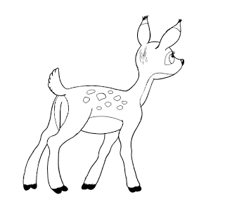 Free Coloring Pages, Free Clipart, Animals Clipart