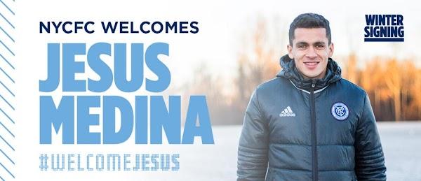 Oficial: El New York City FC firma a Jesús Medina