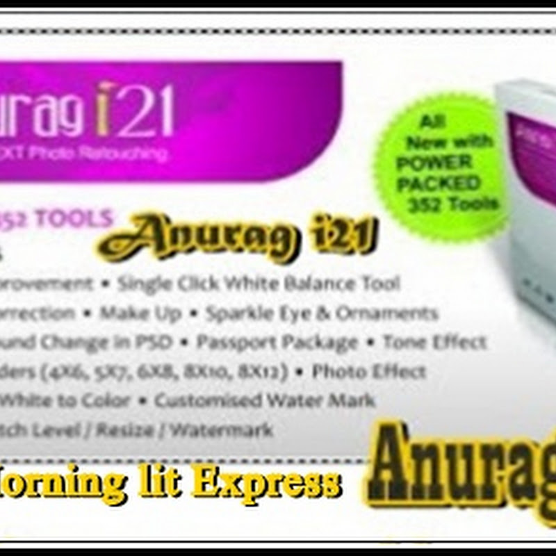 Anurag i21 Photo Retouching and Background Remover For Photoshop Plugin - 2013  Free Download