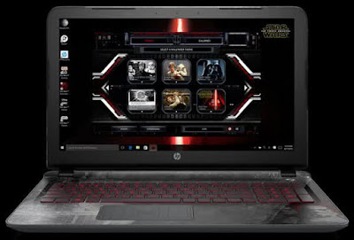 Mengintip Laptop Edisi Star Wars