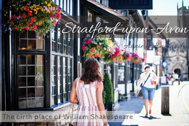 柯茲沃小鎮史特拉福Stratford-upon-Avon