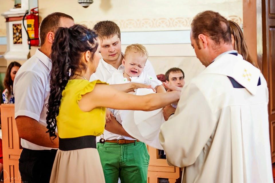 Krikštynų ceremonijos fotosesija