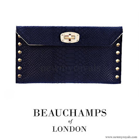 Countess Sophie of Wessex carries Beauchamps of London Clutch