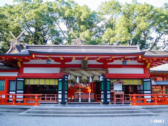 和歌山県新宮市「熊野速玉大社」の社殿