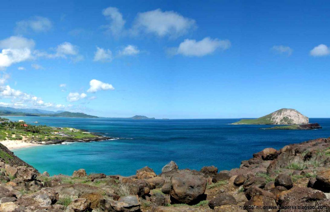 Lanikai Beach Desktop: Hawaiian Islands Oahu Rabbit Wallpaper Hd Desktop