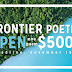 Frontier Annual Poetry Award Now Open For Submission | $5,000 Cash Prize