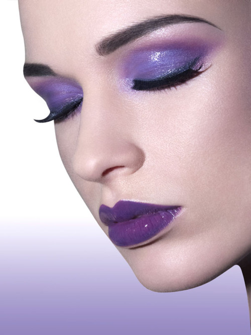 Purple Eyeshadow Tutorial: Purple Makeup Looks