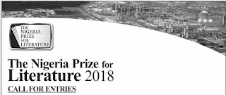 Nigeria Liquefied Natural Gas Prize for Literature 2018