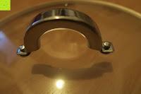 Griff des Deckels: Edelstahl Induktion Kochtopf 20 Liter (Suppentopf mit Glasdeckel, großer Topf, 32 x 25 cm, Dampfloch)