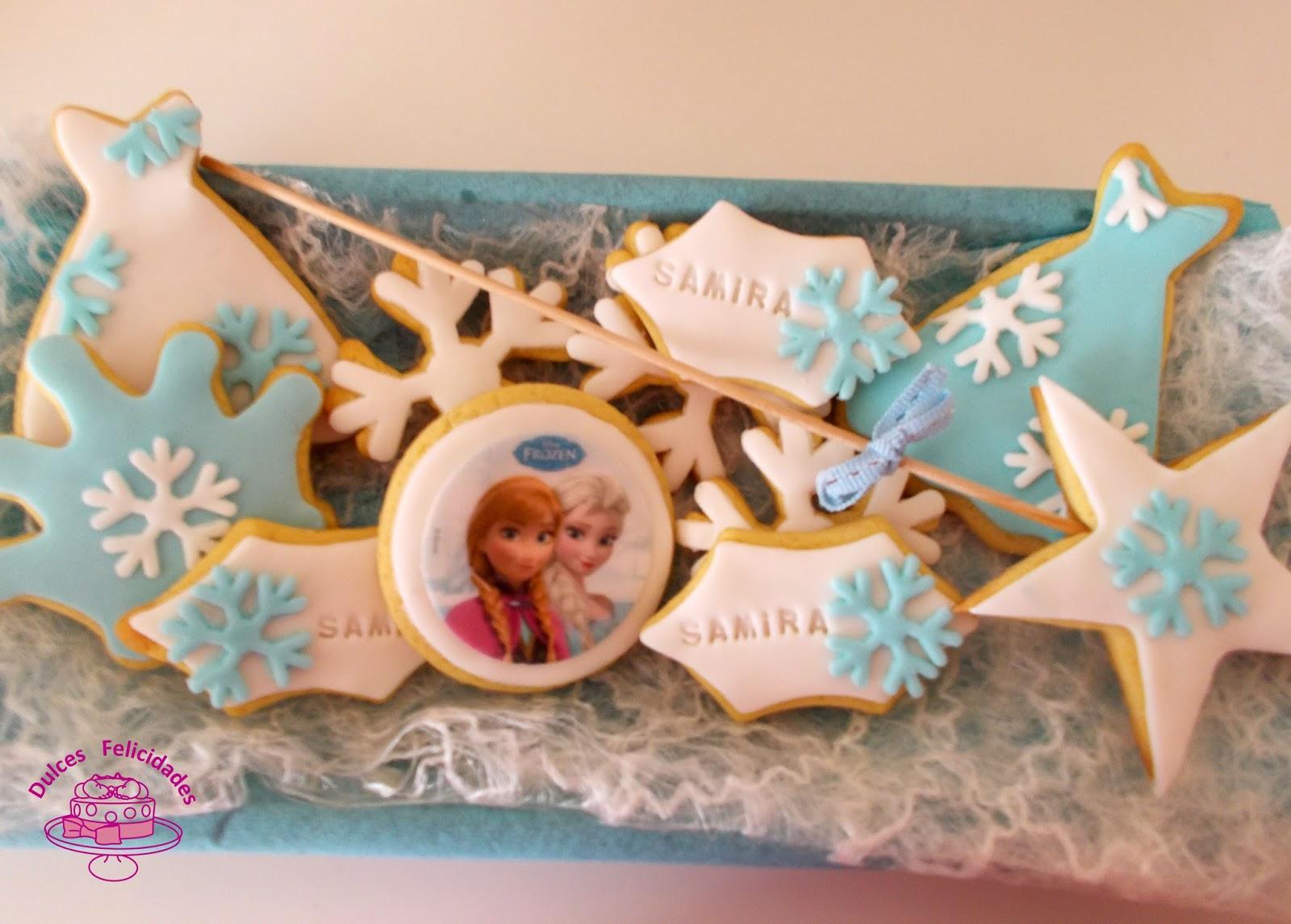 Galletas De Mantequilla Frozen Para Una Princesa