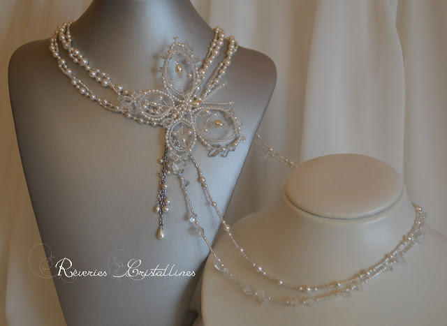 parure bijou mariage perles