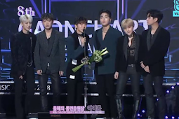 "iKON wins ""Long-Run SONG OF THE YEAR"" for Love Scenario on 8th GAONCHART MUSIC AWARDS"