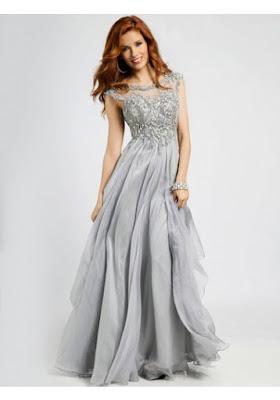 Sukienka wieczorowa z kryształami