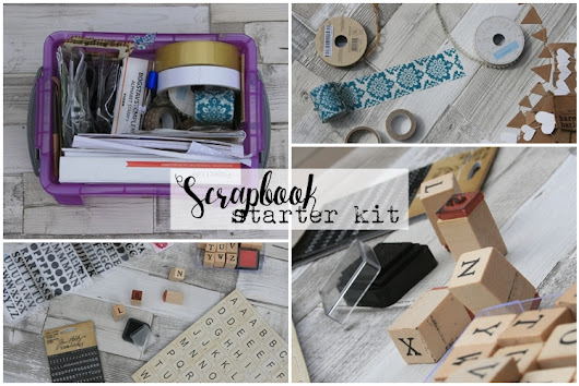 Scrapbook Starter Kit