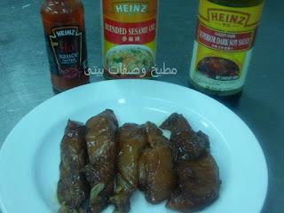 طريقة عمل وصفة الدجاج بالصويا صوص