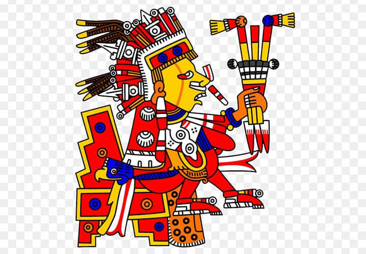 mitoloji, Aztek mitolojisi, Azteklere göre önceden var olan dünyalar, Eski dünyalar, Başka dünyalar var mıydı?, Azteklerin 5 güneşi, Aztek mitolojisinde evrenin yaratılışı, A, Tlaltecuhtli,