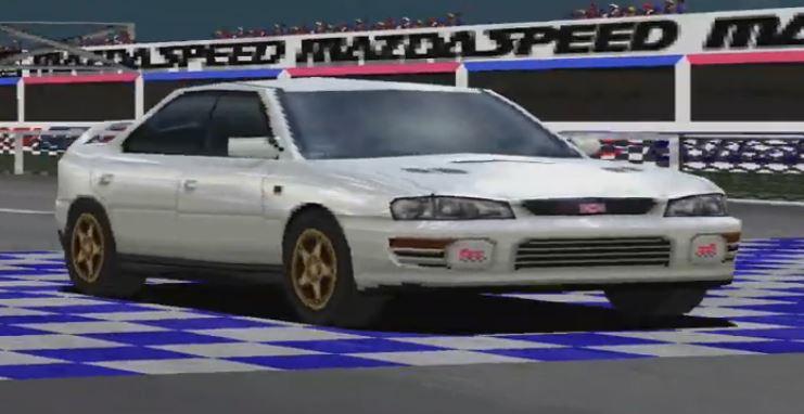 Subaru Impreza WRX STI Version III '96