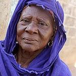 Gambian Woman by gisela gerson lohman braun