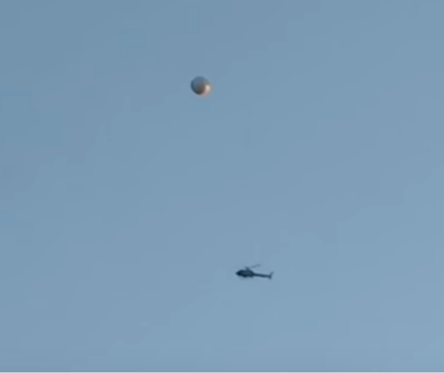The best Police helicopter UFO incident on record check this out.