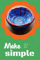 Make it simple clay bowl