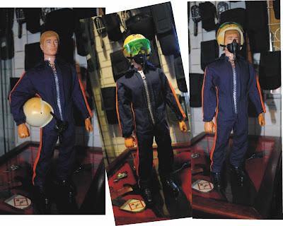 boneco Action Man Palitoy   roupa Piloto de Helicóptero de 1975  1d3dc79794535