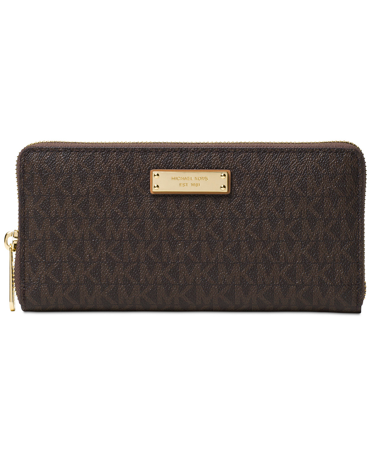 d4ee9c4cb4d0 Grab this MICHAEL Michael Kors Signature Jet Set Item Zip Around  Continental Wallet on sale for $66.60 (Reg. $148) over on Macys. Plus, this  item ships for ...