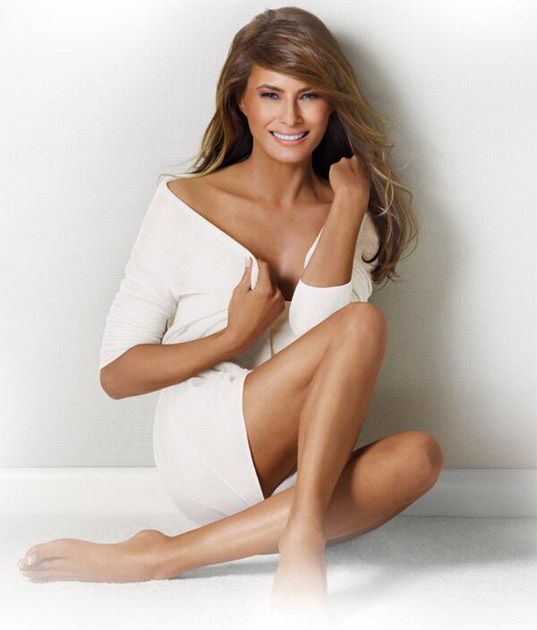 Sexy Pics Of Melania Trump
