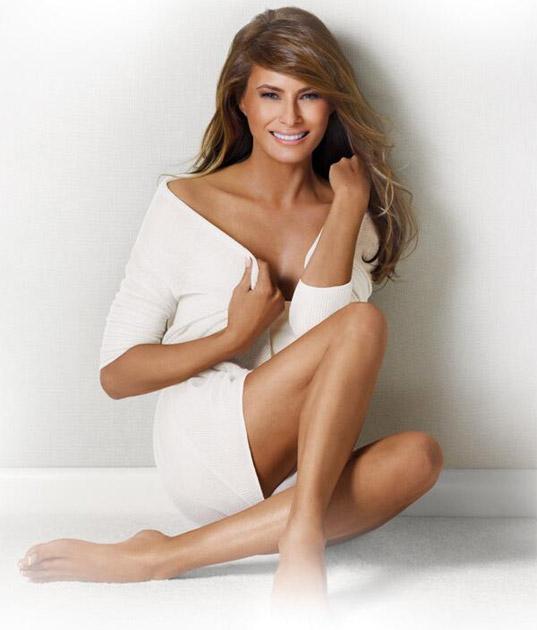 Donald Trump's Hot Wife Melania Trump