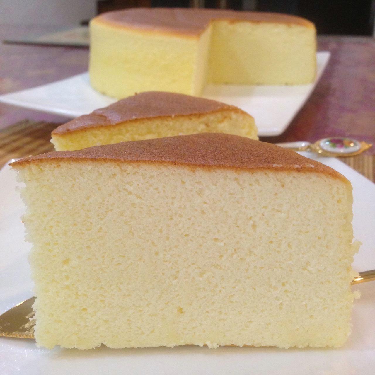 Japanese Chocolate Cotton Cake Recipe