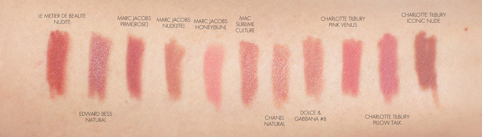 liner Chanel nude lip