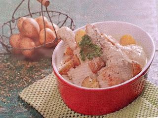 Gambar Resep Ayam Saus Krim