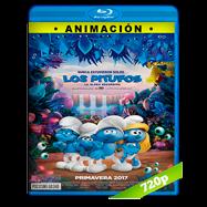 Los Pitufos en la aldea perdida (2017) BRRip 720p Audio Dual Latino-Ingles