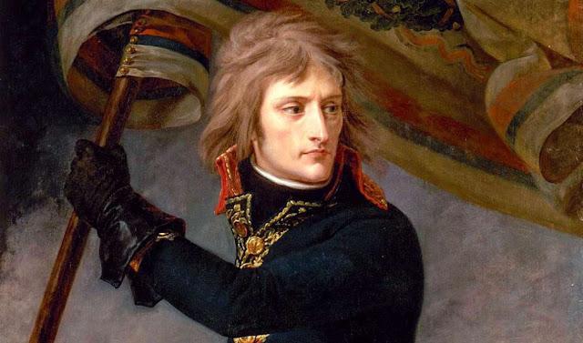 Napoleon Bonaparte durante la campaña de Italia