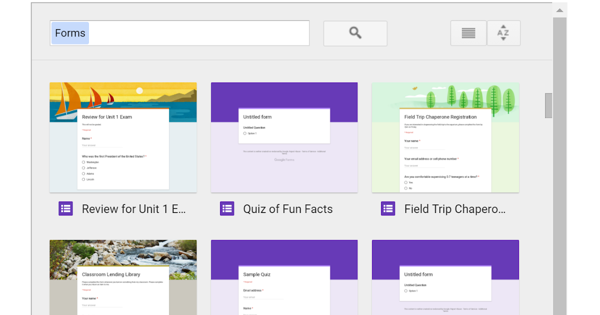 Google Forms in the Classroom on Flipboard by techtools101 | Quizzes
