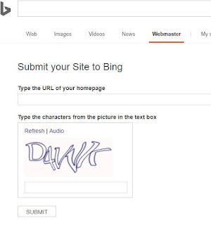 how to get your site index on bing