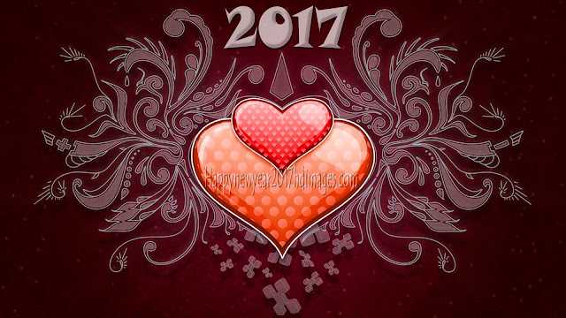 Happy New Year 2017 Love Desktop Background 1080p Download Free