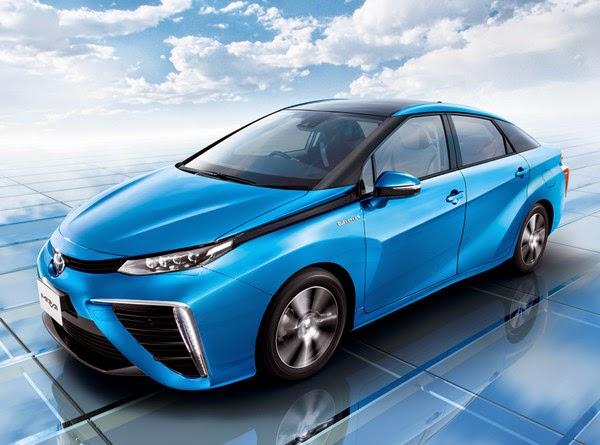 цена Toyota Mirai, фото и характеристики
