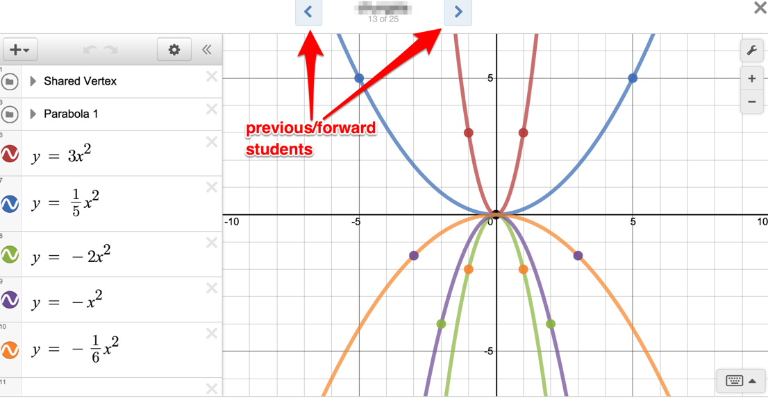 Divisible by 3 [Andrew Stadel]: My Tech Tools [Desmos]