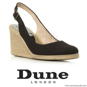 Kate Middleton wore Dune London Pied A Terre Imperia wedges