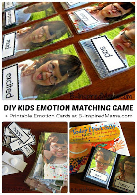 Teach kids emotions with a personalized game
