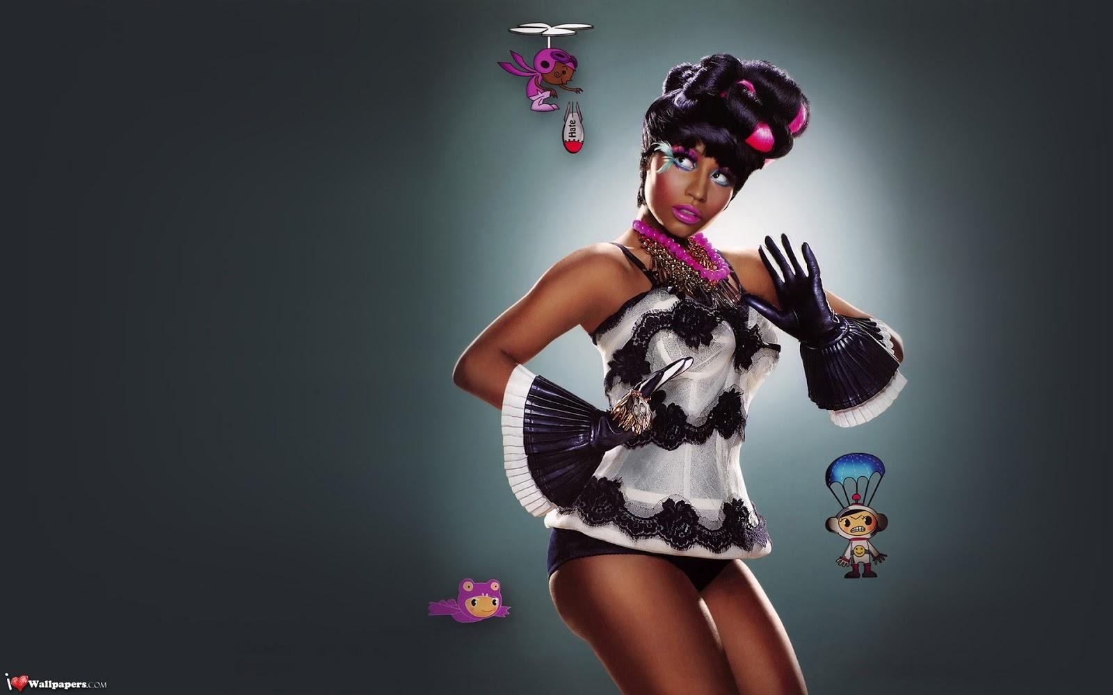 Nicki Minajs Sexiest Photos Top 10 on Latest Writing On The Wall 3