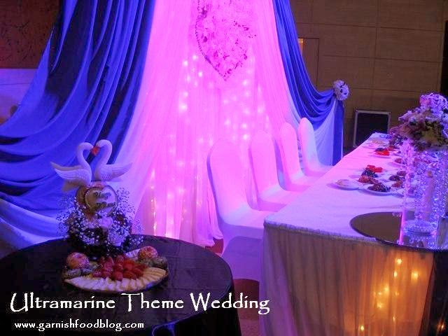 wedding decoration head table