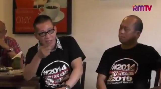 Video: Komunitas Tionghoa Kapok Dukung Jokowi