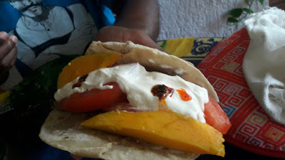 I can't be the first person to put mango on my fajitas