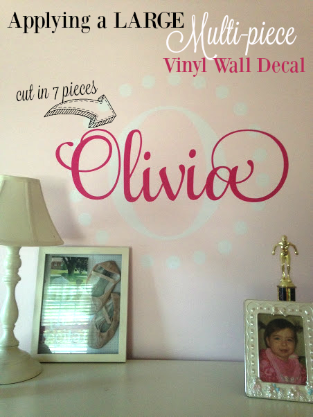 Silhouette, Silhouette tutorial, wall decal, vinyl, vinyl decal, vinyl wall decal, multi piece