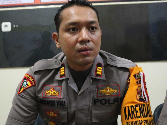 Aparat Gabungan Jaga Tanding Persipura Jayapura Lawan PSIS Semarang