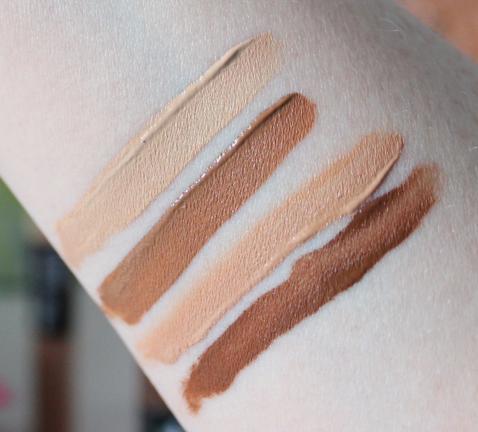 NYX sculpt and highlight sticks review and swatches shades three and four