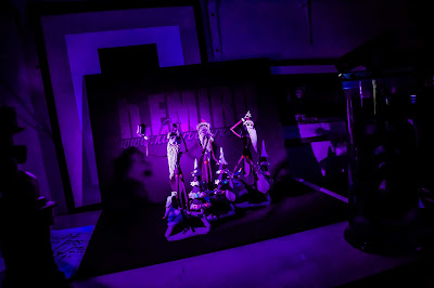Testing UV lamps On nightmare before christmas Figures.