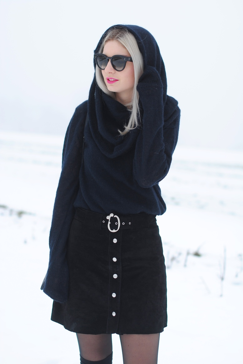 outfit shooting snow