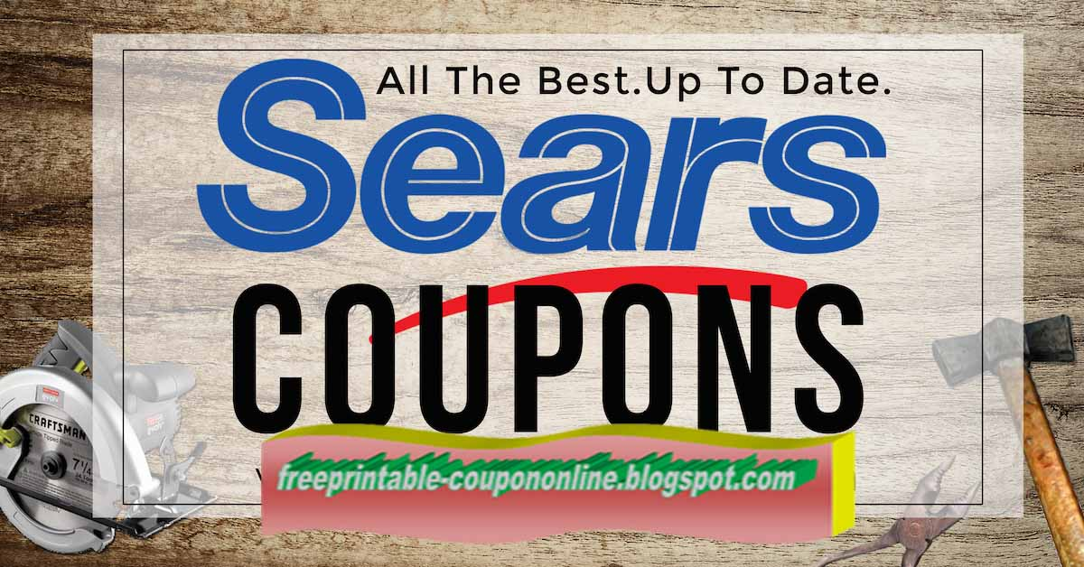 Sears in store coupons